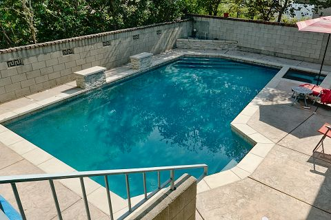 Pool after completion
