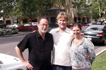 Craig with C.J. and Olivia in Sacramento