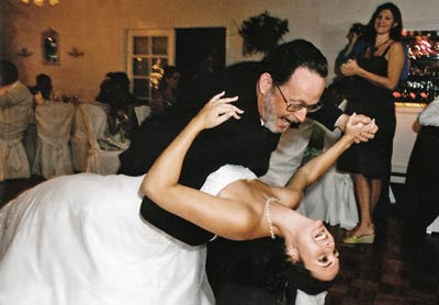 Julie's dance with her dad