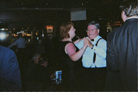 Ellen & Harry dancing