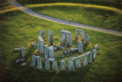 Stonehenge from the air