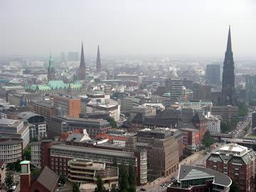 Hamburg from St Michele