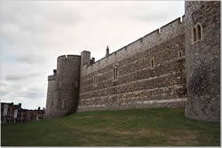 Windsor Castle outer wall
