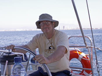 Craig at helm