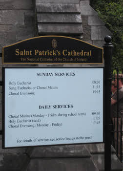 Saint Patrick's Cathedral services