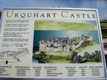 Urquhart Castle legend