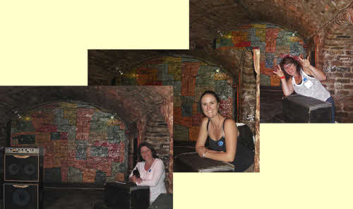 the girls in The Cavern Club
