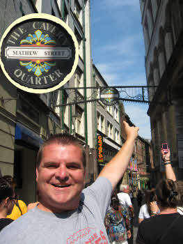 Matt on Mathew Street