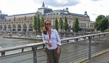 Julie on the Seine