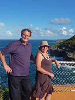 Craig & Patty at Kilauea Point
