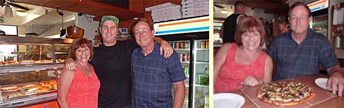 Carlos, Patty, Craig at Hanalei Pizza