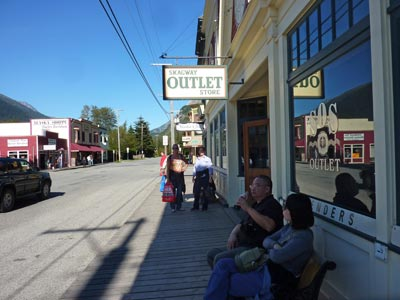 Shopping in Skagway