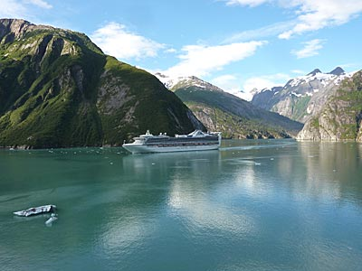 Golden Princess in Tracy Arm