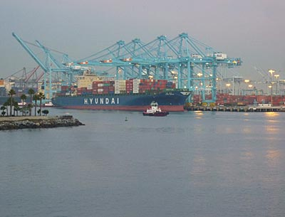 One of the world's largest container ports