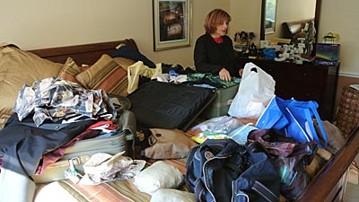 Patty unpacking