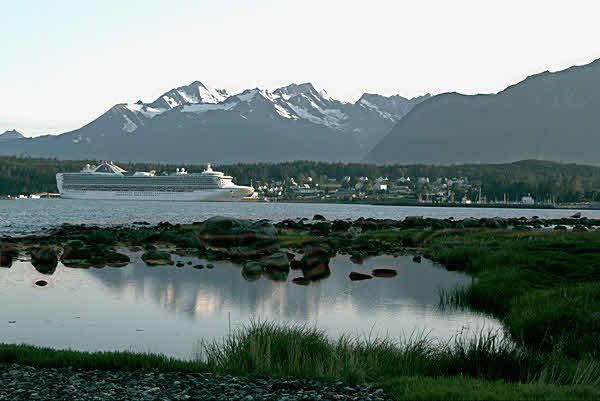 Grand Princess in Haines, Alaska