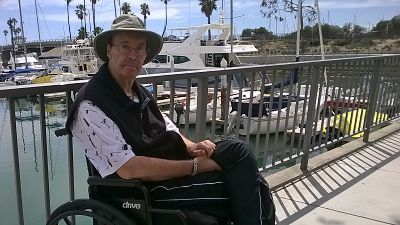 Mike in Dana Point Harbor