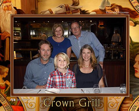 All of us at the Crown Grill
